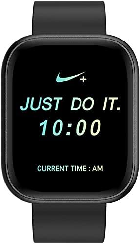 Mujeres Hombres Bluetooth Llamada Reloj Inteligente Monitor de Ritmo Cardíaco Sueño Health Tracker Pantalla Táctil Grande Fitness Tracker-