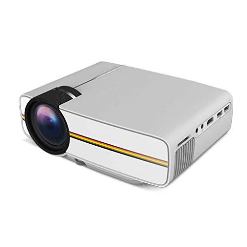 TcoolPE Wifi-projector, Upgraded draadloze mini-projector 1080p ondersteuning, display compatibel met smartphone tablet-tv-stick spel-speler USB-TF thuisbioscoop-projector
