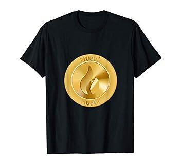Huobi Token HT Gold Coin Logo Cryptocurrency Image T-Shirt
