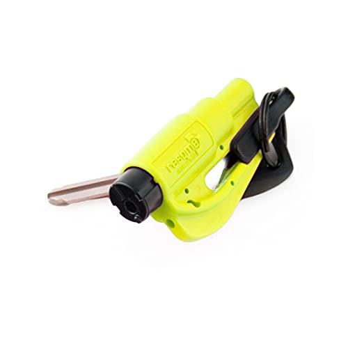 RESQ ME 98730 - Llavero de seguridad (2 en 1, 1 unidad), color amarillo