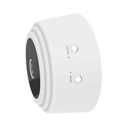1080P HD Mini Cámara WiFi Función de Visión Nocturna 90 Grados Ángulo de Visión WiFi Cámara Recargable Adecuado para El Hogar Y La Oficina