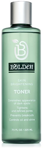 Bolden Skin Brightening Toner | Made with AHA Glycolic Acid, Pore Minimizer Niacinamide, and Hydrating Hyaluronic Acid | 7.5 Fl Oz