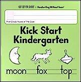 Kick Start Kindergarten Handwriting Without Tears 193981426X Book Cover