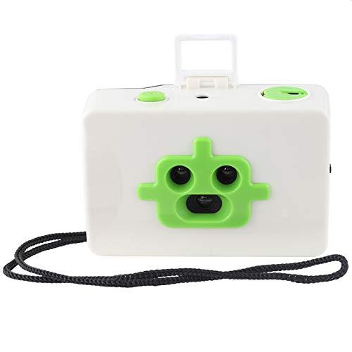 Freak Scene 3 Lentes - cámara de Fotos analógica de 35 mm - Robot - Blanco-Verde