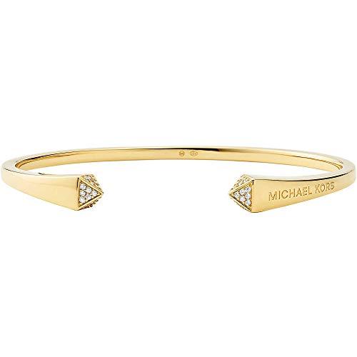 Michael Kors Damen Armreif 925 Silber Einheitsgröße Gold 32012399