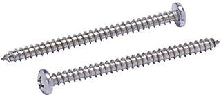 SENDILI 20 St/ück Blechschrauben M6*14mm Silber M6 Langlebig Holzschrauben Spanplattenschrauben Kreuzschrauben aus Edelstahl