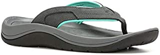 Muck Boot Women's Wanderer Grey with Teal Size 6 Flip Flops
