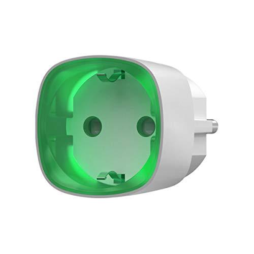 Zubehör Alarm – Intelligente Steckdose mit Fernbedienung und Verbrauchsanalyse für Alarmanlage AJAX – Ref: Socket