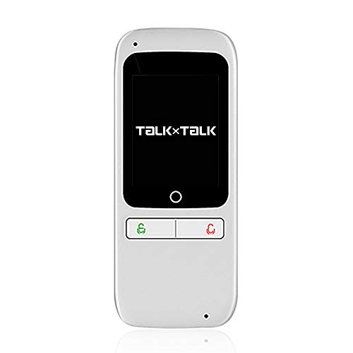 Language Translator Device Pocket AI Voice Translator Device Support 180 Countries Two Way Instant Translation Record/Text Translator with 2.4 Touch Screen – FFF SMART LIFE CONNECTED