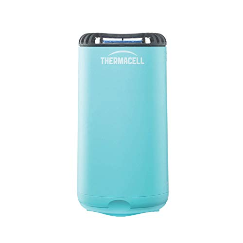 Thermacell Patio Shield Mosquito Repellent, Glacial Blue; Easy to Use, Highly Effective; Provides 12 Hours of DEET-Free Mosquito Repellent; Scent-Free, No Spray, No Smoke and Cordless