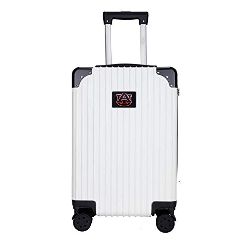 Great Features Of Denco NCAA Auburn Tigers Two-Tone Premium Carry-On Hardcase Luggage Spinner