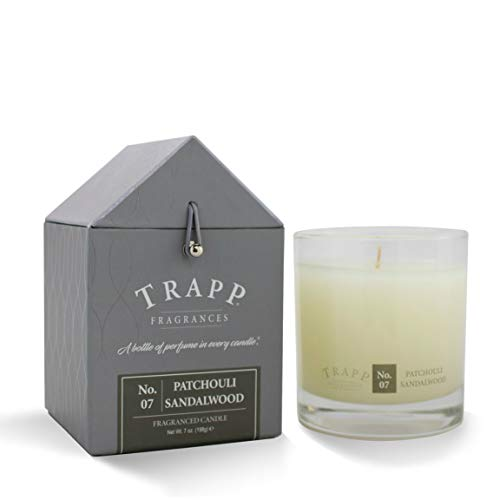 Trapp Signature Home Collection No. 7 Patchouli Sandalwood Poured Scented Candle