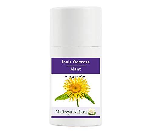Maitreya Natura Ätherisches Öl biologisch ALANT, 100% naturrein, 2ml - Aromatherapie, Diffusor, Massage, Kosmetik - kontrollierte und zertifizierte Qualität, cruelty free, vegan