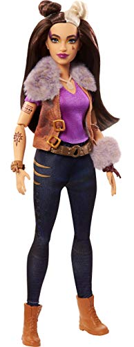 """Zombies Disney's 2, Wynter Barkowitz Werewolf Doll (~11.5-inch) Wearing Rocker Outfit and Accessories, 11 Bendable """"Joints,"""" Great Gift for Ages 5+"""
