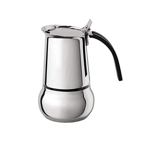 Fantastic Deal! HEYU-Moka Italian Mocha Pot, Hand Espresso Pot Home, 304 Food Safety Grade Stainless...