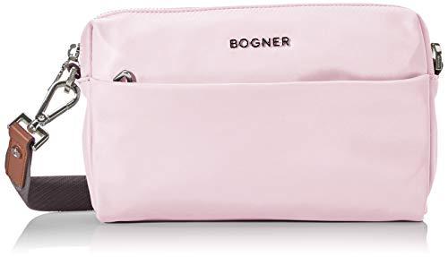 Bogner Damen Klosters Sita Shoulderbag Shz Schultertasche, Pink (Rose), 4x15x22 cm