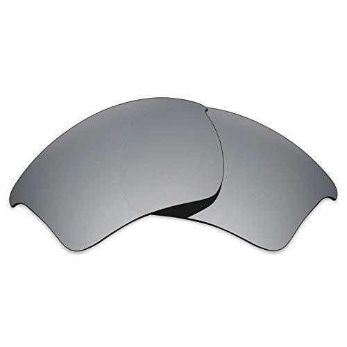 Cristales de repuesto MRY polarizados para gafas de sol Oakley Half Jacket XLJ Multicolor Silver Titanium