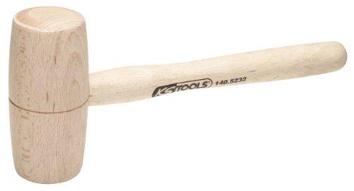 KS Tools 140.5231 Martillo de madera, 100g