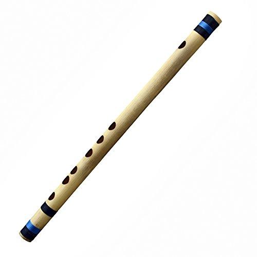 Anfänger/professionelle Musiker Musikinstrument quer Bambus Flöte indische Bansuri (G-Tune) 30 CM