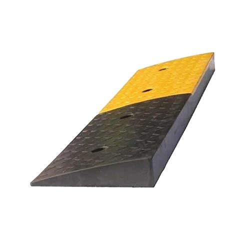 Xzg1-Rampe Schwere Gummirampsen, Werksladerampsen Garagenparkplatz Stufenrampsen Außenrollstuhlrampsen(Size:99.4 * 25 * 6CM)