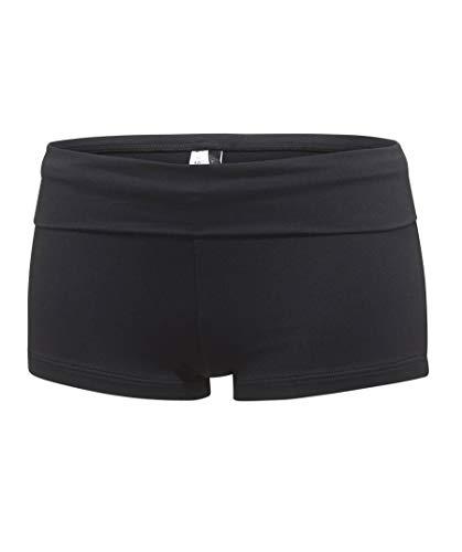 Seafolly Damen Roll Top Pant Bikinihose, Schwarz (Black), 40 (Herstellergröße: 14)