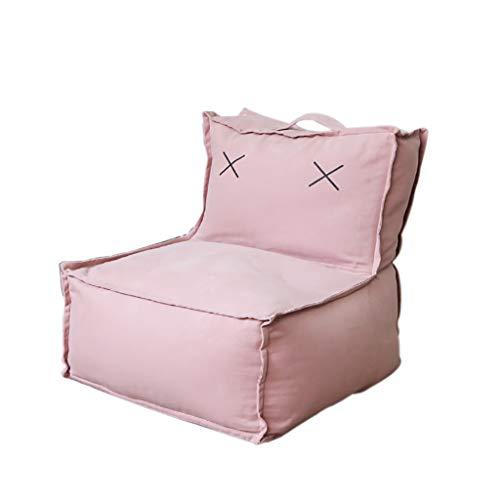 SD Bean Bag Chaise/canapé/Fauteuil/Grande Fauteuil/avec Poignée/avec Fermeture Éclair/Convient pour Intérieur Et Extérieur(56 * 50 * 54cm)