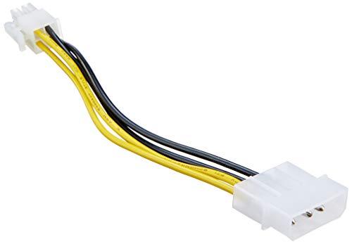 DELOCK Adapter P4 Kabel 4St Molex/4St P4 15cm 82391