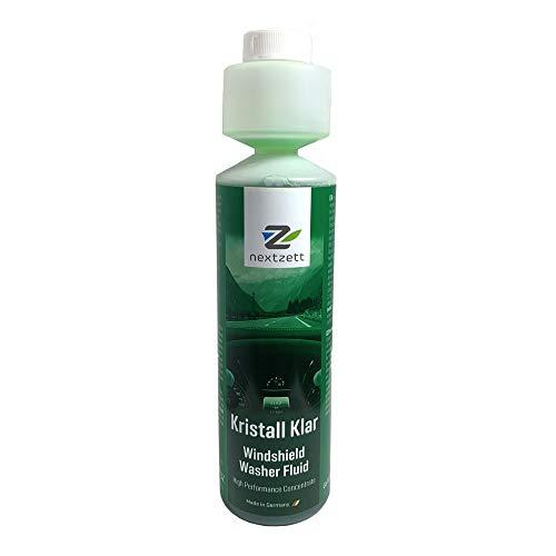 nextzett 92100815 Kristall Klar Washer Fluid 1:200 Concentrate - 8.5 fl. oz.