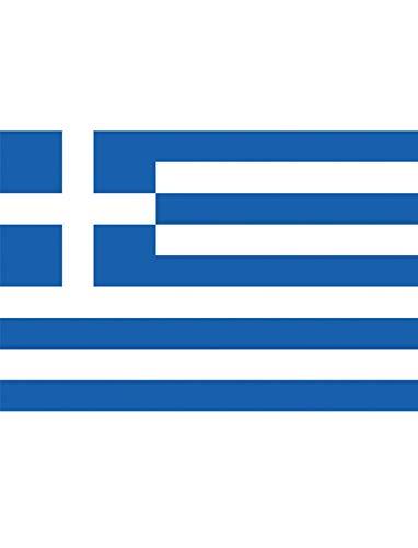 "TrendClub100® Fahne Flagge ""Griechenland Greece GR"" - 150x90 cm / 90x150cm"