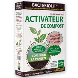 Activateur de compost Bacteriolit (2 sachets pour 2 composteurs)
