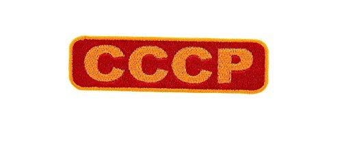 Patch Ecusson-gesticktem Backpack Flagge Russland Russische UdSSR USSR CCCP KGB sovietique