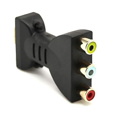 lzndeal Adaptateur Audio et Vidéo HDMI vers 3 RCA Tête Femelle 1,5 m
