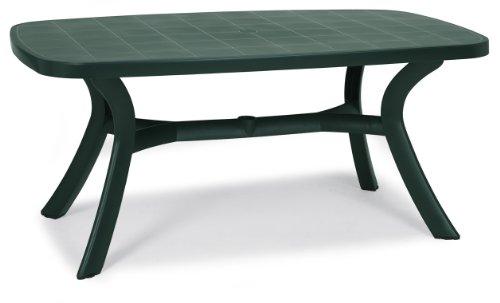 Best 18519230 Tisch Kansas oval 192 x 95 cm, grün