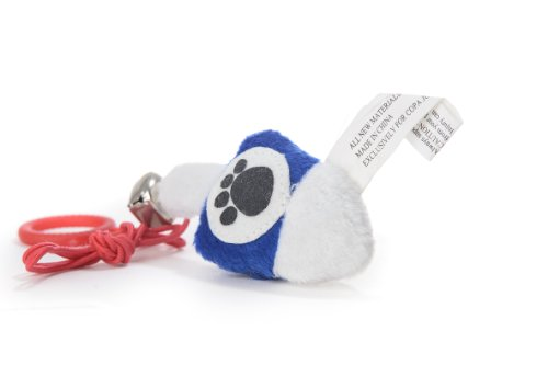 Copa Judaica Chewish Treat Dreidel Plush Cat Toy, 3 by 0.5 by 1.5-Inch, Blue and White