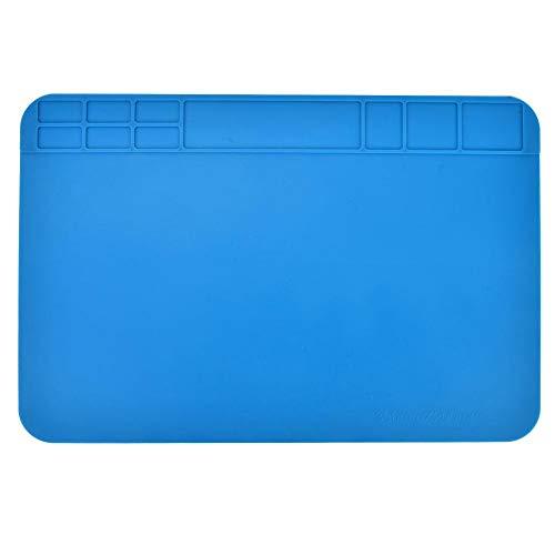 Thermo-isolatiemat, siliconen pads, mobiele telefoon, reparatie, laptop, reparatie, computer, demontage, werkplaats, kantoor, mat, warmte-isolatie, silicone, hittebestendig