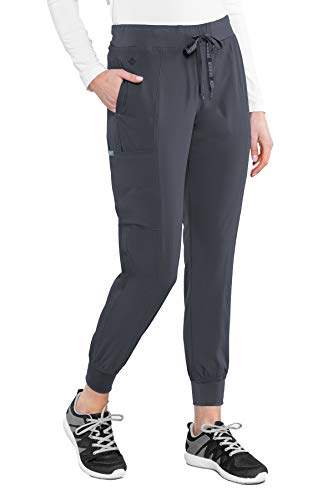 Med Couture Peaches Seamed Jogger Medical Srub Pant for Women