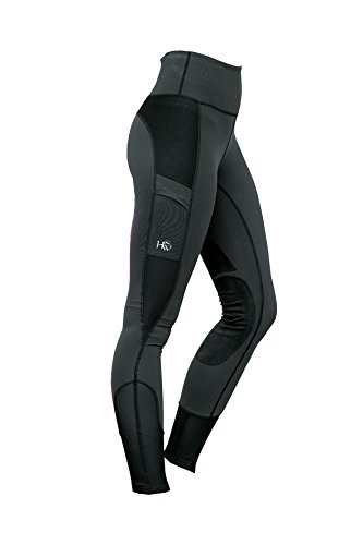 Horseware Reiten Strumpfhose Medium Charcoal