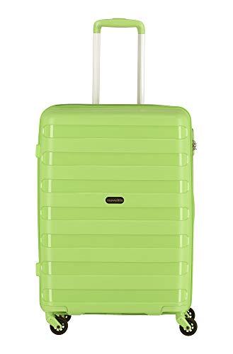 """Travelite Farbenfrohe, lässige Hartschalen-Trolleys der Serie """"Nova"""" machen jede Reise zum bunten Abenteuer Koffer, 66 cm, 67 Liter, Grün"""