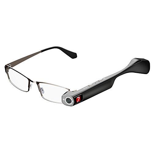 7 TheiaPro App Enabled Eyeglasses Camera(Black)