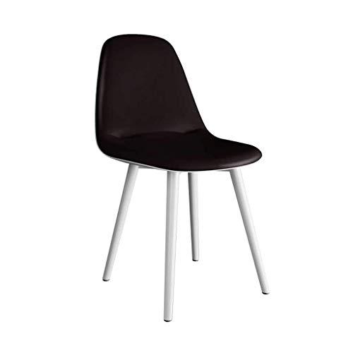 CHHD Bürostuhl, Stuhl Soft Bag Rückenlehne Modern Minimalist Desk Hocker Casual Restaurant
