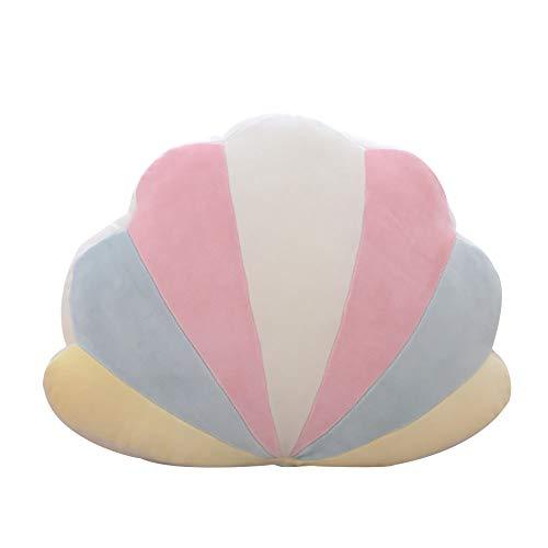 DecoBay zachte pluche regenboog slaapkussen slaapkamer sofa kussen sofa stoel pluizig pluche speelgoed wolk maan sterren shell