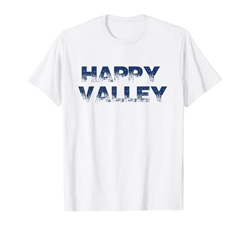 Happy Valley Blue and White College Pride T-Shirt