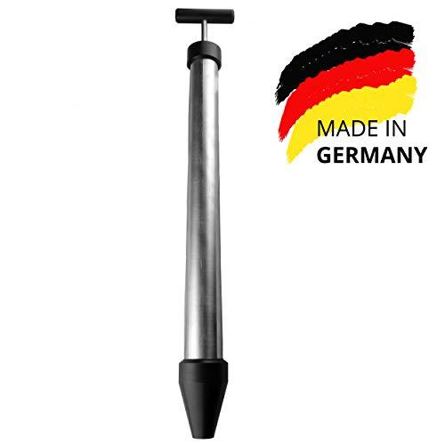 HBT Hand-Mörtelpumpe MP200, hochwertige Edelstahl Mörtelspritze - 700ml Füllmenge | Made in Germany | Profi Handwerkerqualität