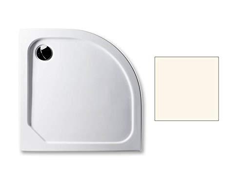 Acryl Duschwanne 90 x 90 cm Radius 55 Farbe: PERGAMON superflach 2,5 cm Viertelkreis Dusche/Duschtasse/Brausewanne