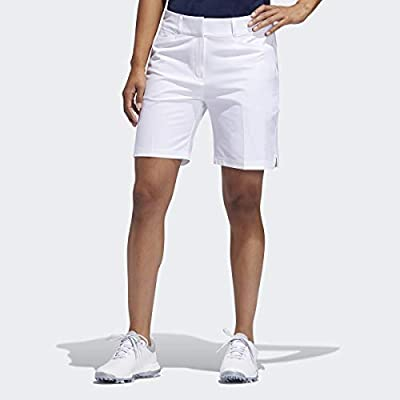 "adidas Golf 7"" Short, White, 4"