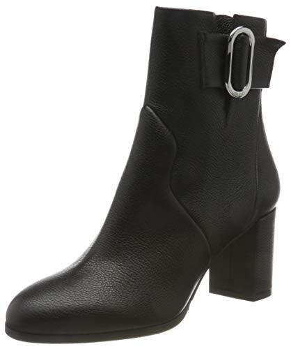 HUGO Damen Piper Bootie 70-Gr Mode-Stiefel, Black1, 38