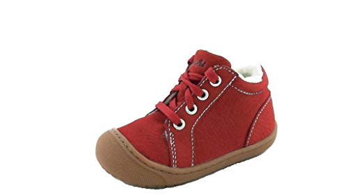 Lurchi Baby-Mädchen Inori Sneaker, RED, 22 EU