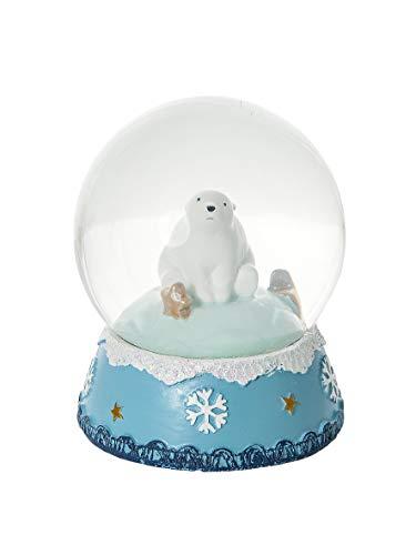 Mousehouse Gifts Noël Boule à Neige décorative Ours Polaire - Pas Parfait - décoloration