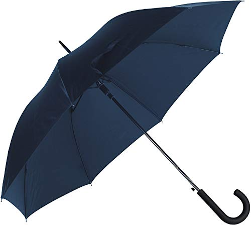 SAMSONITE Rain Pro - Stick Umbrella Auto Open Ombrello Classico, 87 centimeters, Blu (Blue)