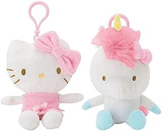 Hello Kitty Reversible Mascot Clip On - Unicorn